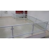quanto custa guarda corpo de vidro escada Vila Guilherme