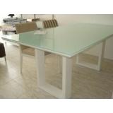 quanto custa móveis com vidro branco Vila Andrade