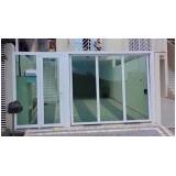 valor de portão de alumínio com vidro Lauzane Paulista