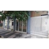 valor de portão de alumínio para garagem Jaguaré