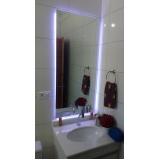 valor espelho para banheiro Santa Cecília