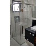 venda de box de vidro para banheiro Cajamar