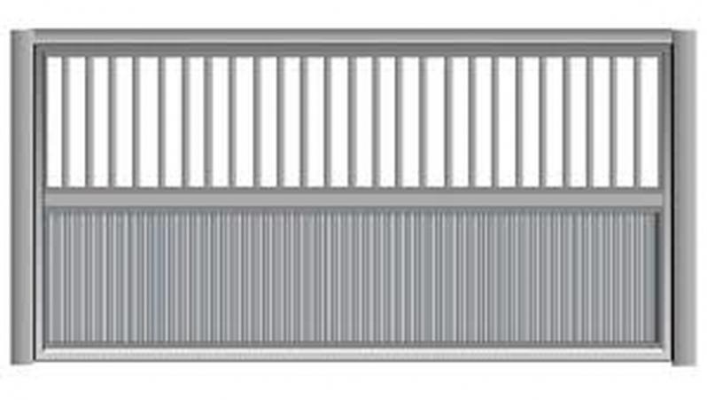 Valor de Portão de Alumínio Basculante Higienópolis - Portão de Alumínio de Correr
