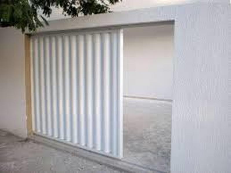 Valor de Portão de Alumínio Branco de Correr Vila Marisa Mazzei - Portão de Alumínio com Motor