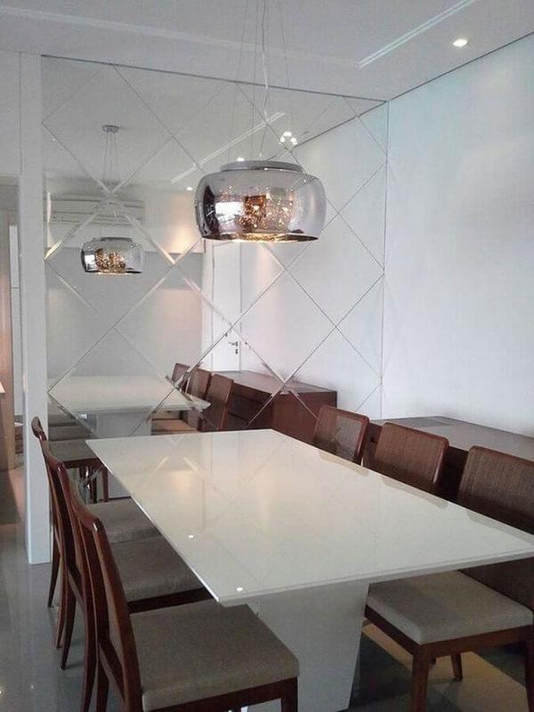 Valor Espelho para Sala de Jantar Itaim Paulista - Espelho para Sala de Jantar