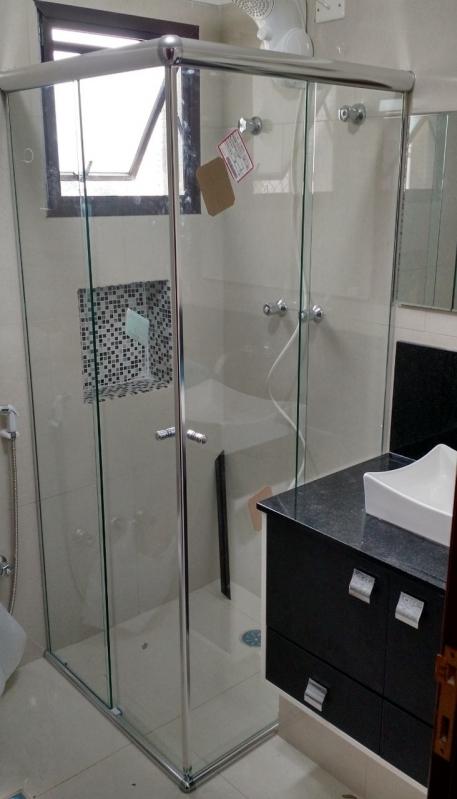 Venda de Box de Vidro de Banheiro Sacomã - Box de Vidro de Canto